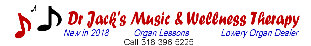 Dr Jack also provides Music Therapy services!  www.drjackrd.com
